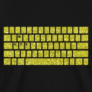 Computer Keyboard WASD Gaming PC Multiplayer Skill - Men's Premium T-Shirt