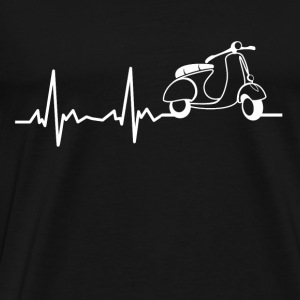 My heart beats for scooters ... - Men's Premium T-Shirt
