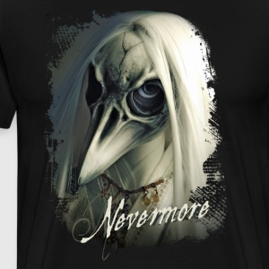 Nevermore - Premium T-skjorte for menn