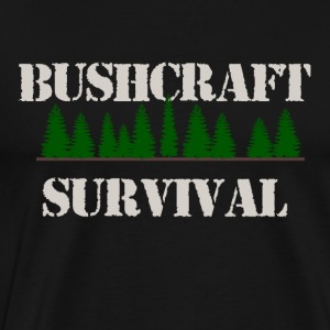 bushcraft Survival - Herre premium T-shirt
