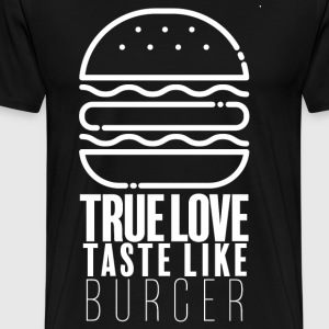 burger Lover - Premium T-skjorte for menn