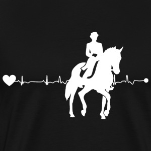 Heart Dressage - Premium-T-shirt herr