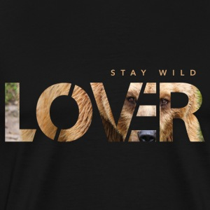 Stay Wild Lover - Premium-T-shirt herr