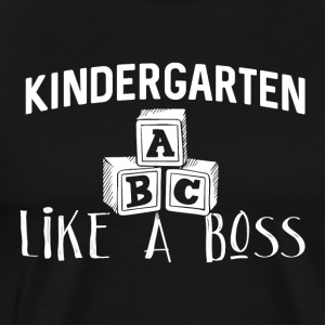 Kindergarten Like A Boss - Premium-T-shirt herr