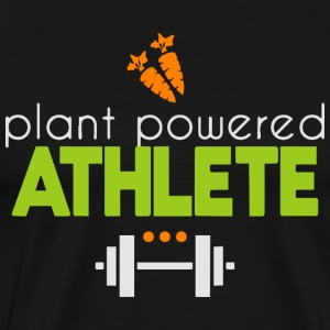 Plant powered athlete - Men's Premium T-Shirt
