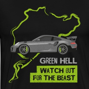 Watch Out For The Beast - Grüne Hölle - Männer Premium T-Shirt