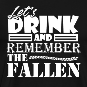 Remember the Fallen - Veteran's Day - America - Männer Premium T-Shirt