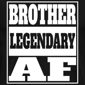 Brother legendariske af - Premium T-skjorte for menn