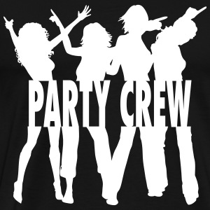 Party Crew / Drinking Team / Party on! 1c - Premium-T-shirt herr