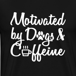 attract only by dogs and caffeine - Men's Premium T-Shirt
