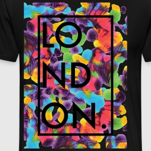 London Art 2 - Premium T-skjorte for menn