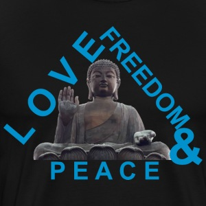 PEACE LOVE FREEDOM - Men's Premium T-Shirt