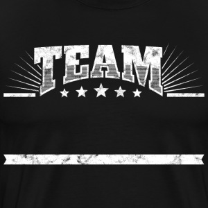 Team shirt Group Company T-shirt Naam Team - Mannen Premium T-shirt