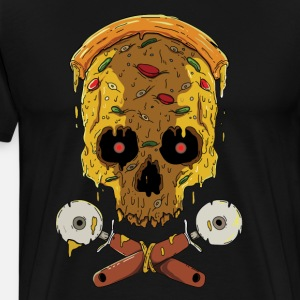 Zombie Halloween-pizza