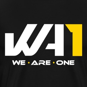 We are One Logo (weiße Schrift) - Men's Premium T-Shirt