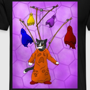 Puppet Master Cat - Men's Premium T-Shirt