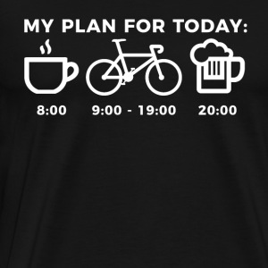 MIN PLAN FOR I DAG - Herre premium T-shirt