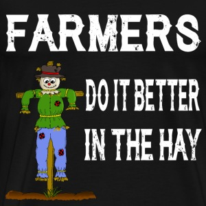 Farmer Hay Haystack Scrapper Sex Love - Men's Premium T-Shirt