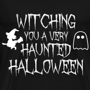 Witching VOUS A LA CONCEPTION HAUNTED HALLOWEEN - T-shirt Premium Homme