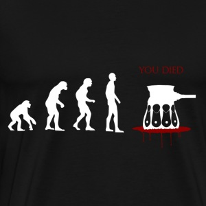 Evolved ... Oops - Men's Premium T-Shirt