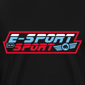 E-SPORT IS MY SPORT! present - Men's Premium T-Shirt