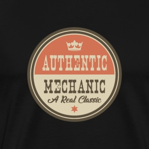 AUTENTISK mekaniker - MECHANIC - Premium T-skjorte for menn