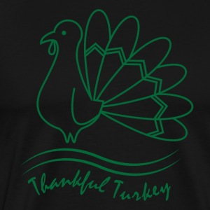 Taknemmelige Tyrkiet Thanksgiving Thanksgiving ferie - Herre premium T-shirt