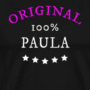 Original 100% Paula, gift, name - Men's Premium T-Shirt