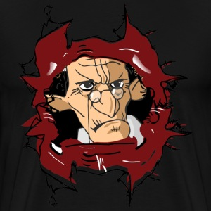 Grumpy old man inside - Men's Premium T-Shirt