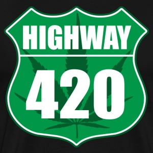 Highway 420 - Premium T-skjorte for menn