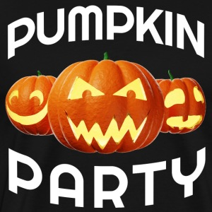 Pumpkin Party Halloween pumpkin lanterns - Men's Premium T-Shirt