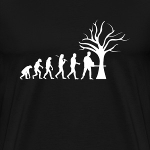 Forestry Tshirt Evolution funny gift - Men's Premium T-Shirt