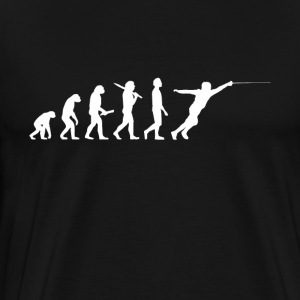 Escrime Fencer Evolution - T-shirt Premium Homme