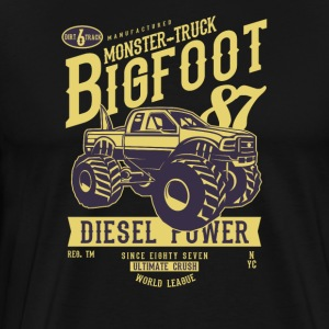 Bigfoot Monster-Truck. The ultimate Crush. - Männer Premium T-Shirt