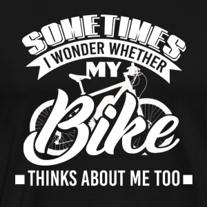 Biker - Mountain bike - Bicycle - Bicyclist - Men's Premium T-Shirt
