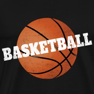Basketball T-Shirt Grunge 2.0 - Men's Premium T-Shirt