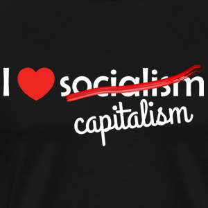 Love Capitalism Capitalism - Men's Premium T-Shirt