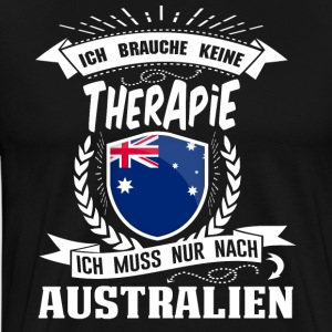 I do not need therapy Australia - Men's Premium T-Shirt