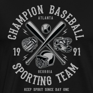 Baseball Champion Sporting Team shirt - Mannen Premium T-shirt