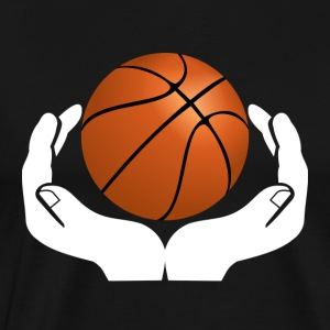 Keep Hands Basketball Ballsport Ball Teamwork Dunk - Men's Premium T-Shirt