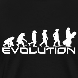 EVOLUTION BOARDING - Premium-T-shirt herr