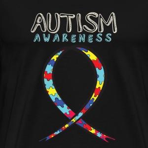 Autisme Awareness 2018 Autisme Accept shirt - Herre premium T-shirt