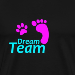 Dream Team rosa blau - Männer Premium T-Shirt