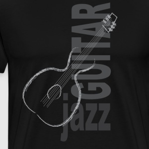 Jazz Guitar - T-shirt Premium Homme