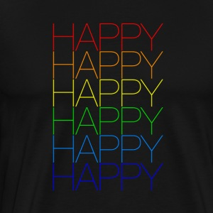 Happy 2 - Männer Premium T-Shirt