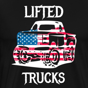 Lifted Trucks tuned offorad jeep cars - Men's Premium T-Shirt