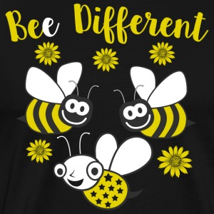 Bee Different - Mannen Premium T-shirt