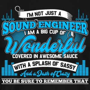 Sound engineer science funny gift - Men's Premium T-Shirt