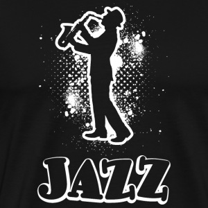 jazz - Premium T-skjorte for menn