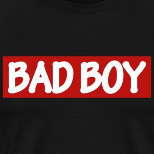BAD BOY - vit / röd - Premium-T-shirt herr